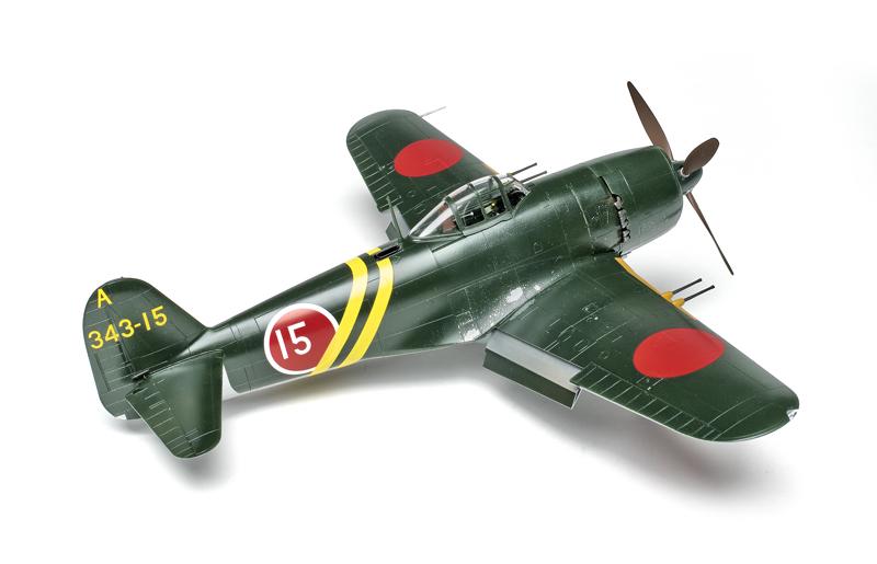 GEORGE Hasegawa ST33 Kawanishi N1K2-J Shiden Kai 1//32 scale kit
