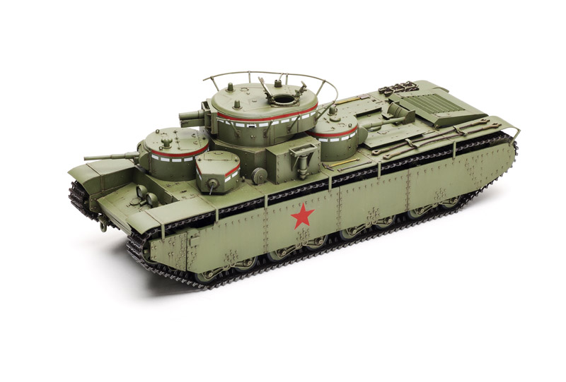 Zvezda T-35   Finescale Modeler Magazine
