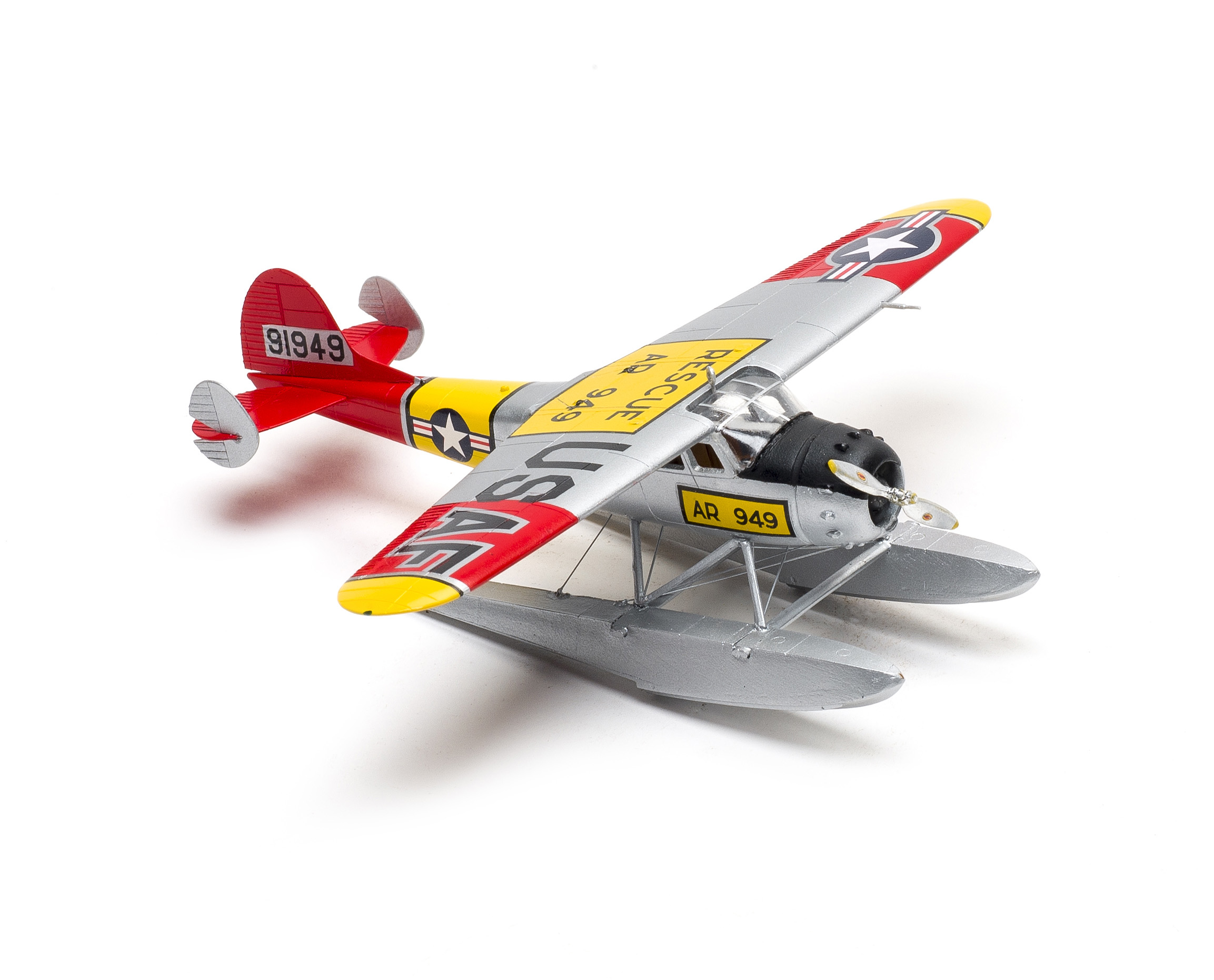 Lift Here Cessna 195 // floats Models 1//72 Cessna LC-126A extra fine resin kit