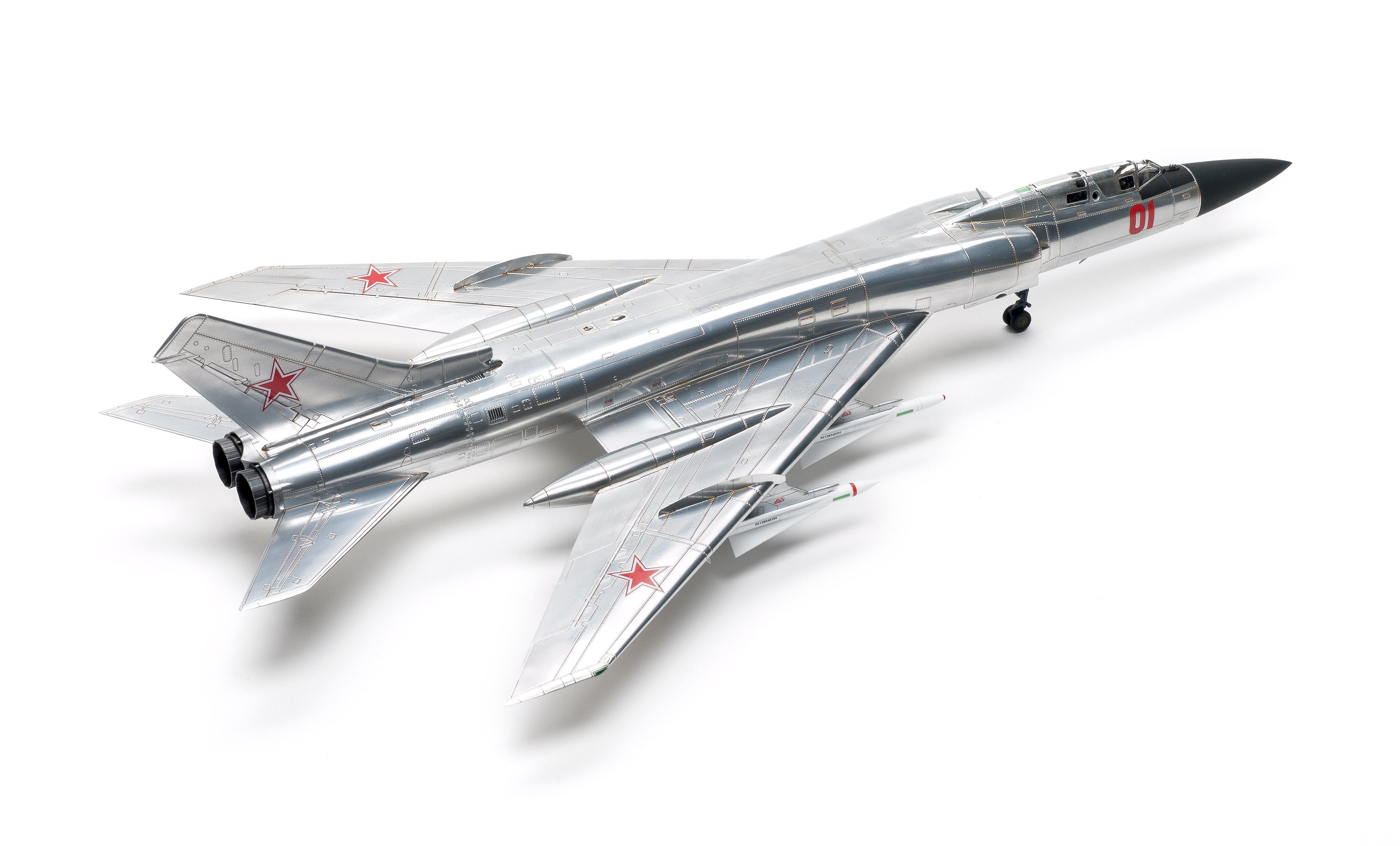 "TUPOLEV Tu-128M /""FIDDLER/"" TRUMPETER 1//72 PLASTIC KIT"