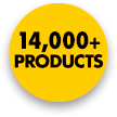 14,000+ Products