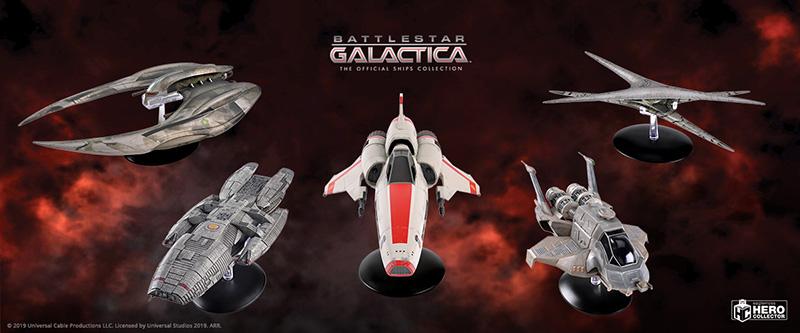 Battlestar Galactica The Official Ships Collection