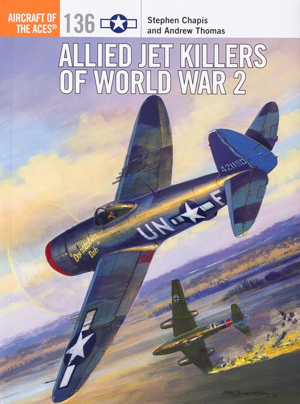 Book review of Allied Jet Killers of World War 2 for scale
