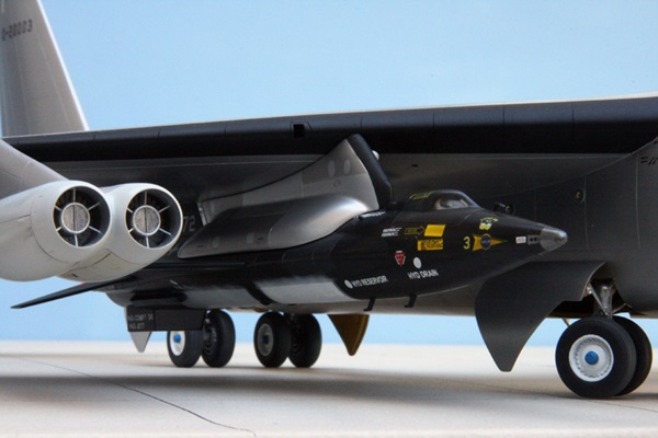 Frontier Speed Test >> To the frontier of space: X-15 and mother ship | Finescale Modeler Magazine