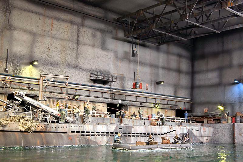 Superb Shadow Box U Boat Wwii Detailed Diorama Finescale Modeler Evergreenethics Interior Chair Design Evergreenethicsorg