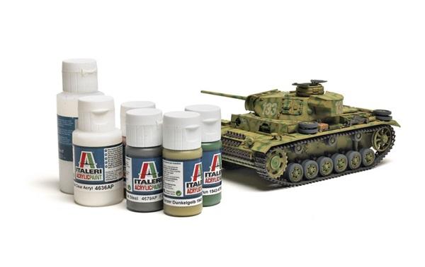 Italeri Acrylic Paint | Finescale Modeler Magazine