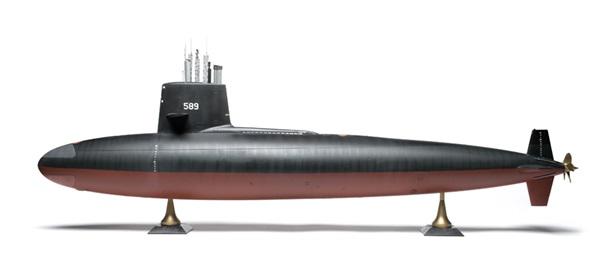 Moebius Models 1/72 scale USS 'Skipjack' | Finescale Modeler