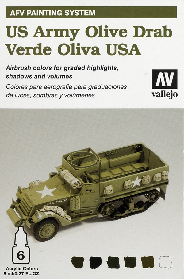 Acrylicos Vallejo AFV Painting and Weathering Systems