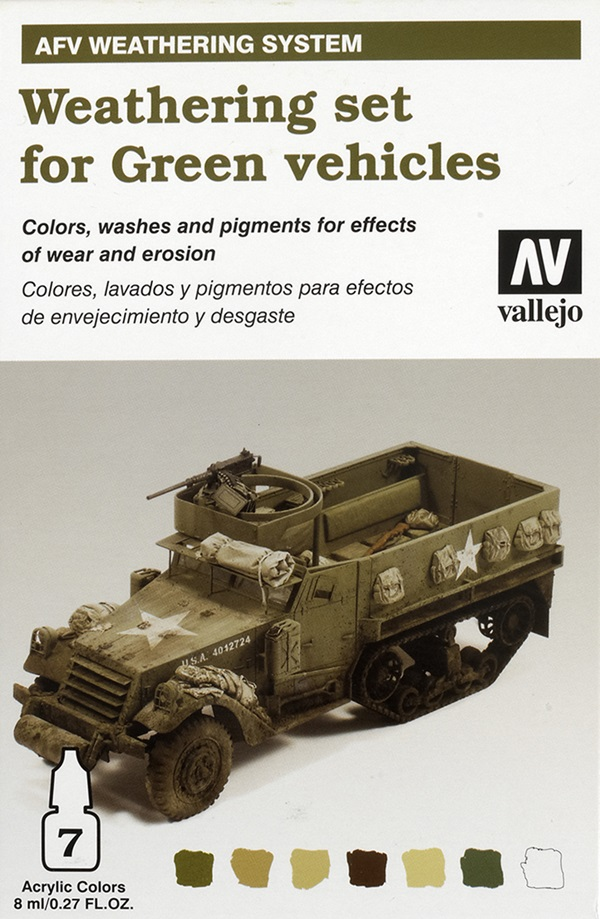 Acrylicos Vallejo AFV Painting and Weathering Systems | Finescale
