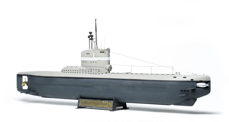 Outstanding Bronco 1 35 Scale German Type Xxiii U Boat Finescale Evergreenethics Interior Chair Design Evergreenethicsorg
