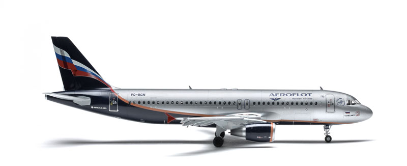 Airbus A-320 Civil Airliner 1:144 Plastic Model Kit 7003 ZVEZDA