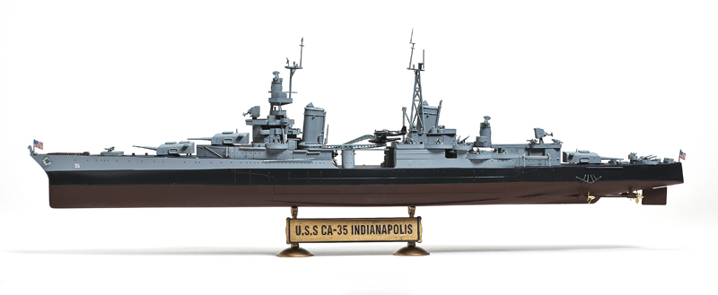 Flyhawk 350116 1//350 USS Cruiser Indianapolis for Academy top quality
