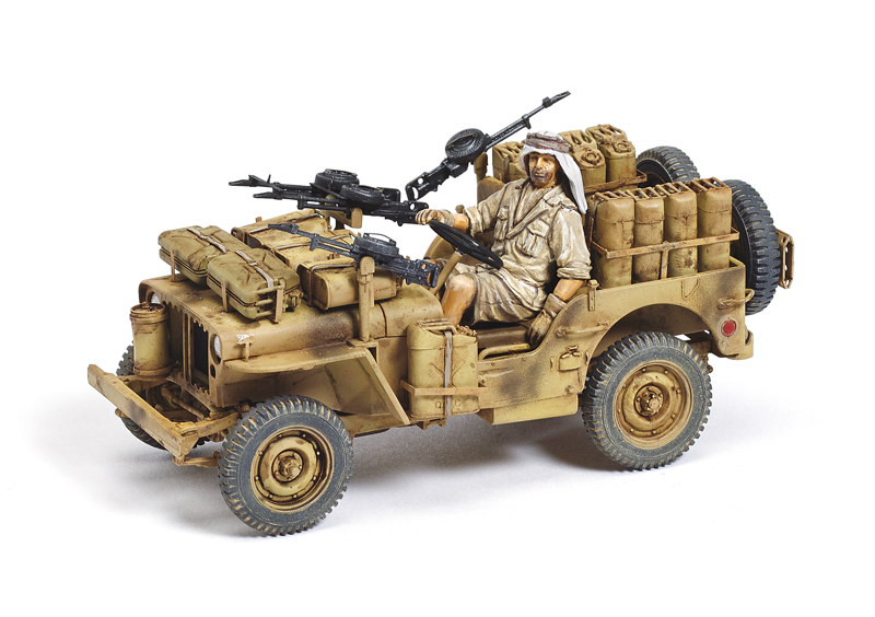 Dragon 1/35 scale 1/4-ton SAS 4x4 Patrol Comander's Car ...