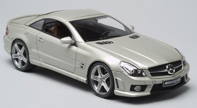 Aoshima 1 24 scale mercedes benz sl 63 amg finescale for Mercedes benz sl 2010