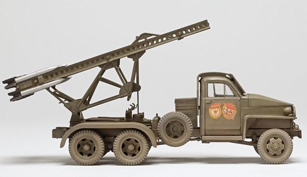 ICM 1/35 scale BM-13-16N Katyusha | Finescale Modeler Magazine