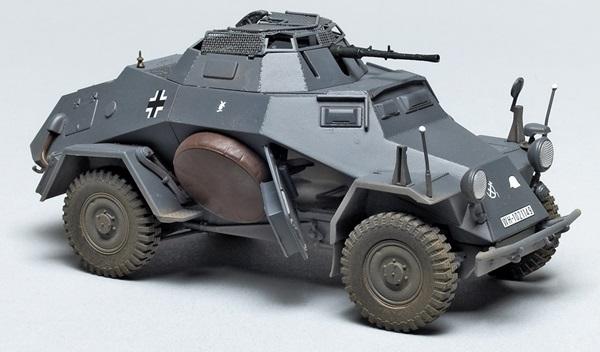 tristar 1 35 scale sdkfz 222 leichter panzersp hwagen finescale modeler magazine. Black Bedroom Furniture Sets. Home Design Ideas