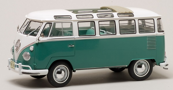 revell germany 1 24 scale volkswagen t1 samba bus. Black Bedroom Furniture Sets. Home Design Ideas
