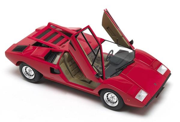 Aoshima 1 24 Scale Lamborghini Countach Lp400 Finescale Modeler