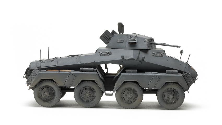 AFV Club 1/35 scale Schwere Panzerspähwagen SdKfz 231 (8-Rad