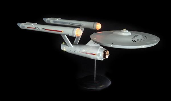 Polar Lights 1/350 scale Star Trek USS Enterprise