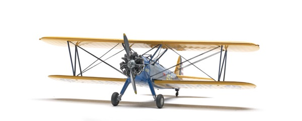 Special Expanded Review - Revell 1/48 scale Stearman biplane