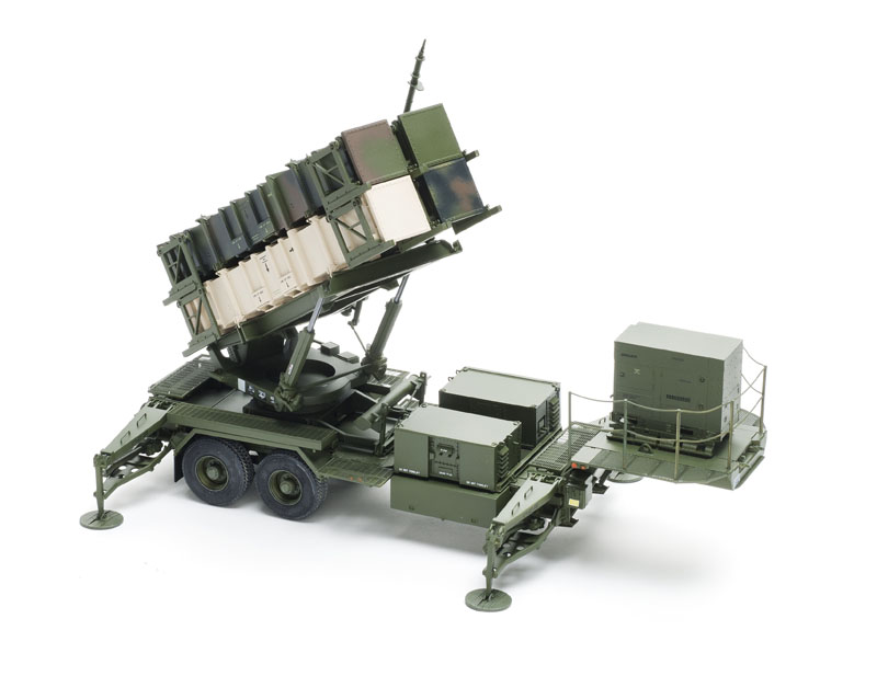 Trumpeter Mim 104 Patriot Launcher And Radar Trailers Finescale