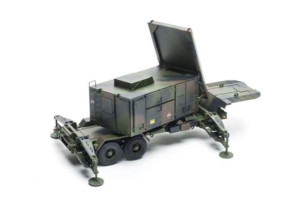 Trumpeter Mim 104 Patriot Launcher And Radar Trailers