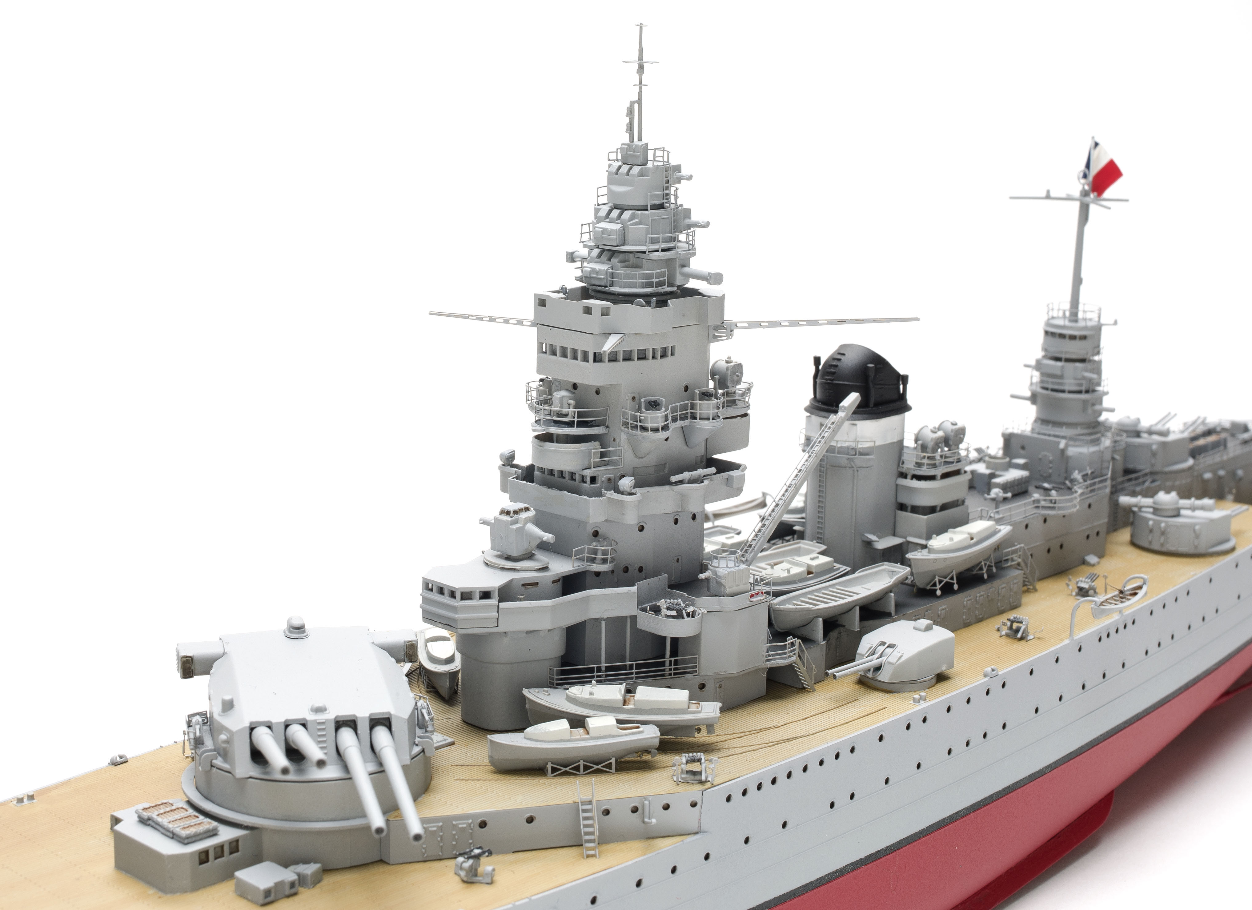 Hobby Boss French Navy Dunkerque Battleship 1//350 Ship Model Kit