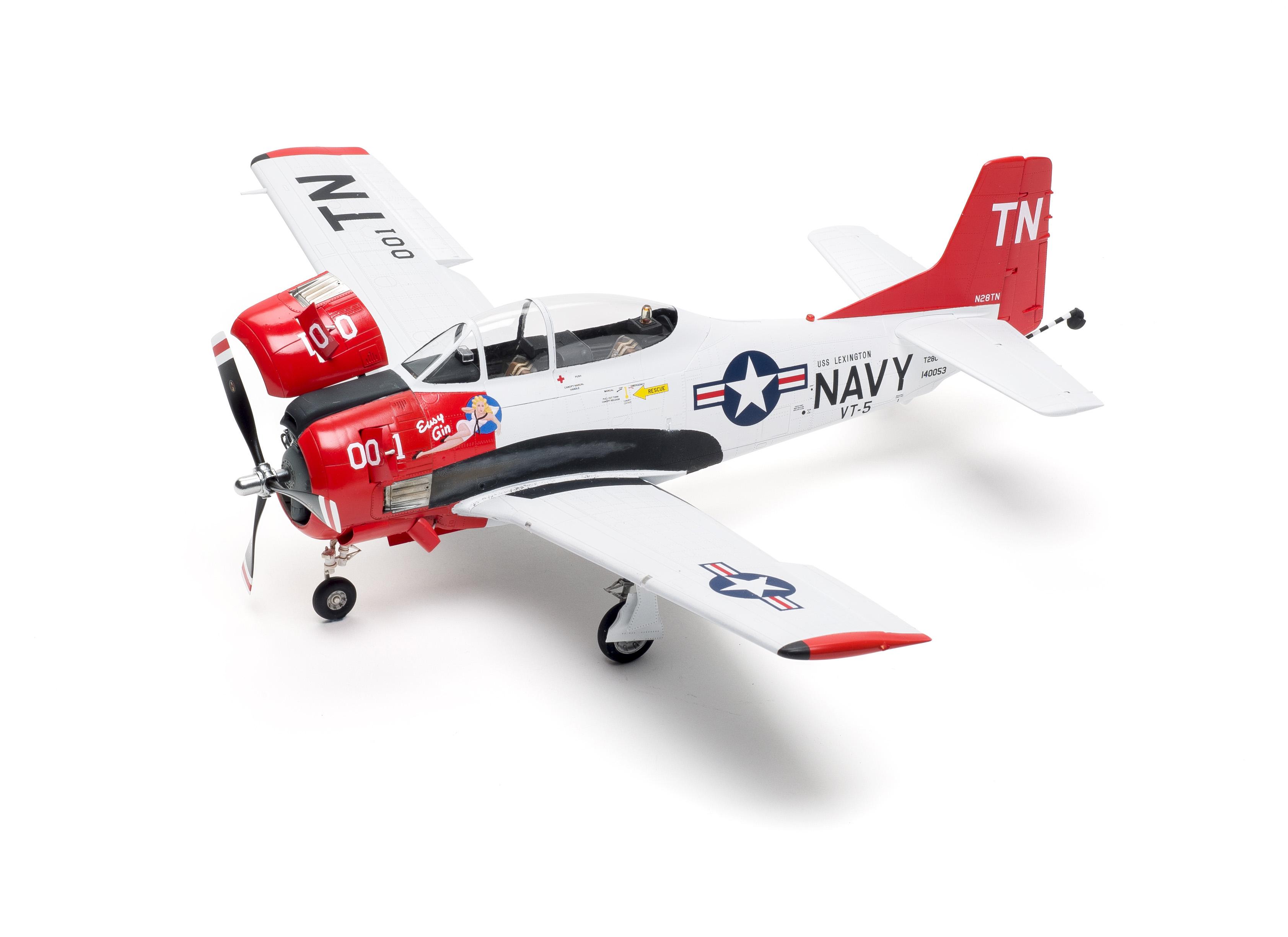 Kitty Hawk T-28C Trojan new scale model kit build review   FineScale Modeler Magazine