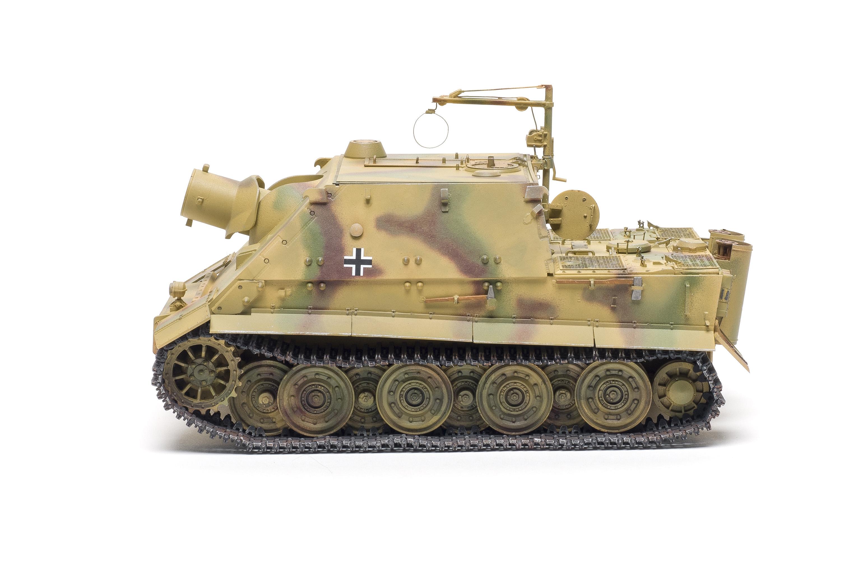 Rye Field Model RFM RM-5012 1//35 Sturmtiger RM61 L//5.4//38cm w//Full Interior