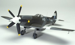 Academy 1/48 scale Spitfire