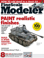 FineScale Modeler magazine – Paint realistic finishes on Tamiya's 1/48 scale Marder III
