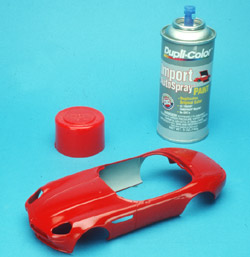 Using Automotive Paint On Your Models Finescale Modeler Magazine