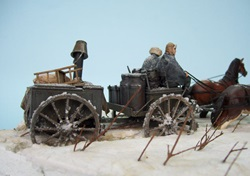 1/35 scale winter diorama
