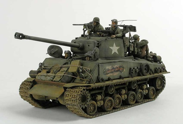 Jim Wechsler's 1/35 scale armor - with fantastically finished