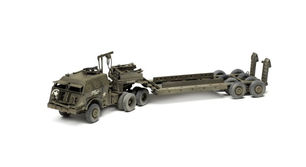 Academy 172 Us Tank Transporter Dragon Wagon Finescale Modeler
