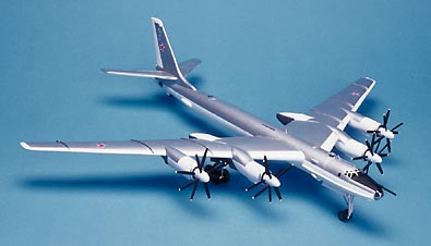 Aircraft in Miniature 1/72 scale Tupolev Tu-95/Tu-116 Bear