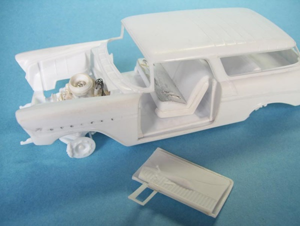 Build And Beat Up Revell S 1 25 Scale 1956 Chevy Nomad