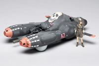 Model kit review: Hasegawa 1/20 scale Falke Antigravity Armored Raider Pkf 85