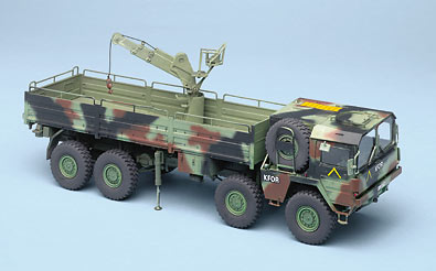 Revell AG 1/35 scale MAN 10-ton milgl 8x8 truck | Finescale Modeler