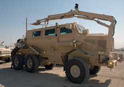 buffalo mine-protected clearance vehicle