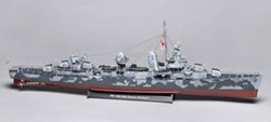 Revell Germany 1/144 scale Fletcher-class destroyer