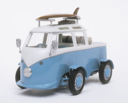 Convert Revell's 1/24 scale VW bus for sun and sand | Finescale